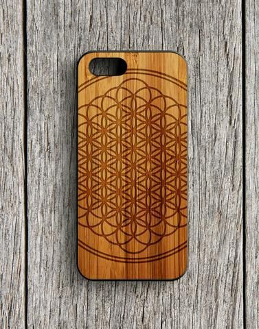 Bmth Sempiternal Logo Albums Wood Design iPhone 5 | 5S Case