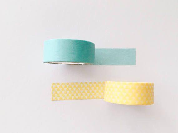 Washi tape, plain washi tape, basic washi tape