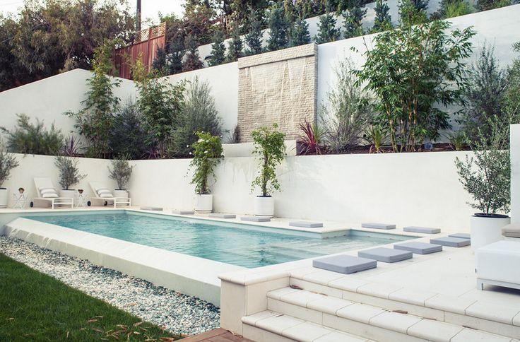 Contemporary Pool Design in Los Angeles