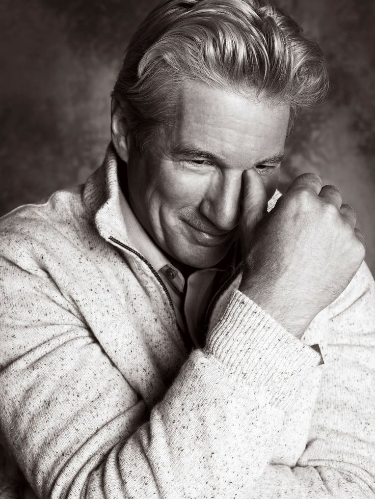 Richard Gere like a great bottle of wine grows better with age