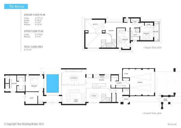Your Building Broker: The Brescia Narrow Lot Home Design