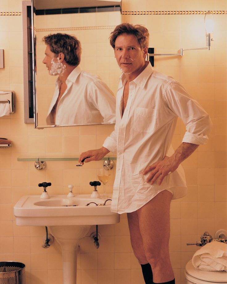 HARRISON FORD BY ANNIE LEIBOVITZ, VANITY FAIR, 1993