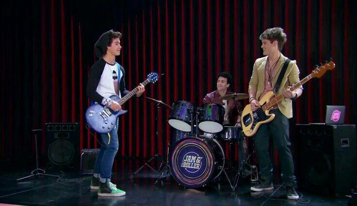 Simón, Pedro e Nico #RollerBand
