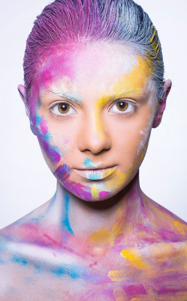 #creamy #colors  Published in @ Make-Up Magazine Romania #3-4/14 (09-10) - 6 steps & cover  MUA: Diana Enaiche Photo: Bogdan Dancu Model: Madalina Sinoae