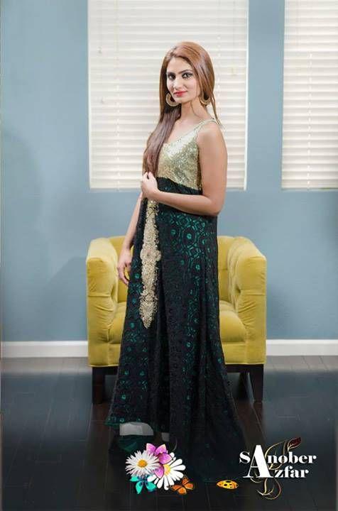 Ladies Winter Dresses Collection By Sanober Azfar (3)