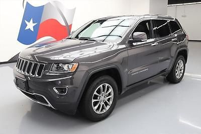 eBay: 2014 Jeep Grand Cherokee Limited Sport Utility 4-Door 2014 JEEP GRAND CHEROKEE LIMITED 4X4 SUNROOF NAV 24K MI #472347… #jeep #jeeplife