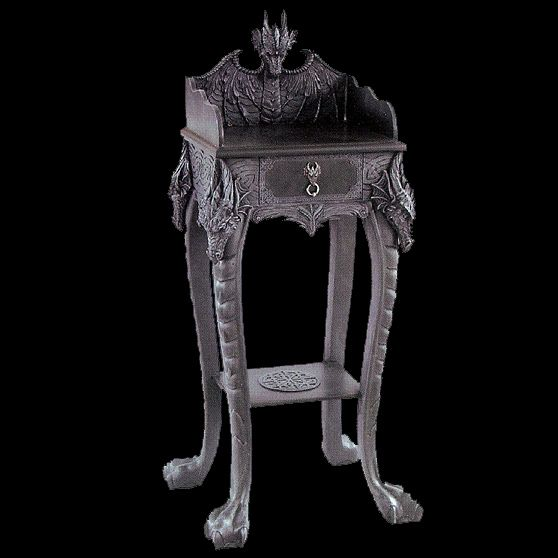 150 best images about dragons on pinterest traditional wine bottle holders and celtic dragon - Guarding dragon accent table ...