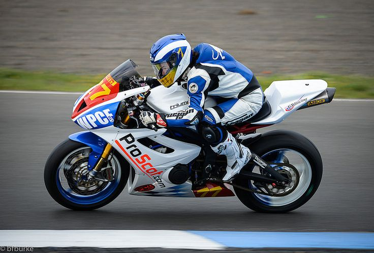 Jodie Chalk on the ProScot.com Triumph  #flickr #britishsuperbikes #BSB #knockhill