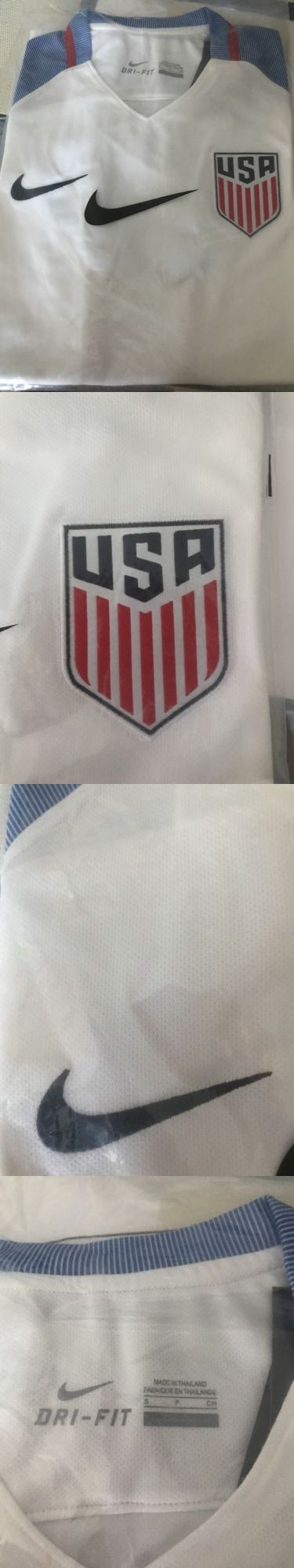 Soccer-National Teams 2891: ????New Usa Soccer Team Home 2017 Jersey Men White Size Small ???? ???? ???? -> BUY IT NOW ONLY: $45 on eBay!