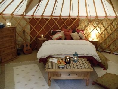Woodlands Rest, Yurt Glamping, Moray, Scotland