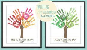 Tolle Bastelidee für die Kinder als Geschenk zum Vatertag. Noch mehr Ideen gibt es auf www.Spaaz.de