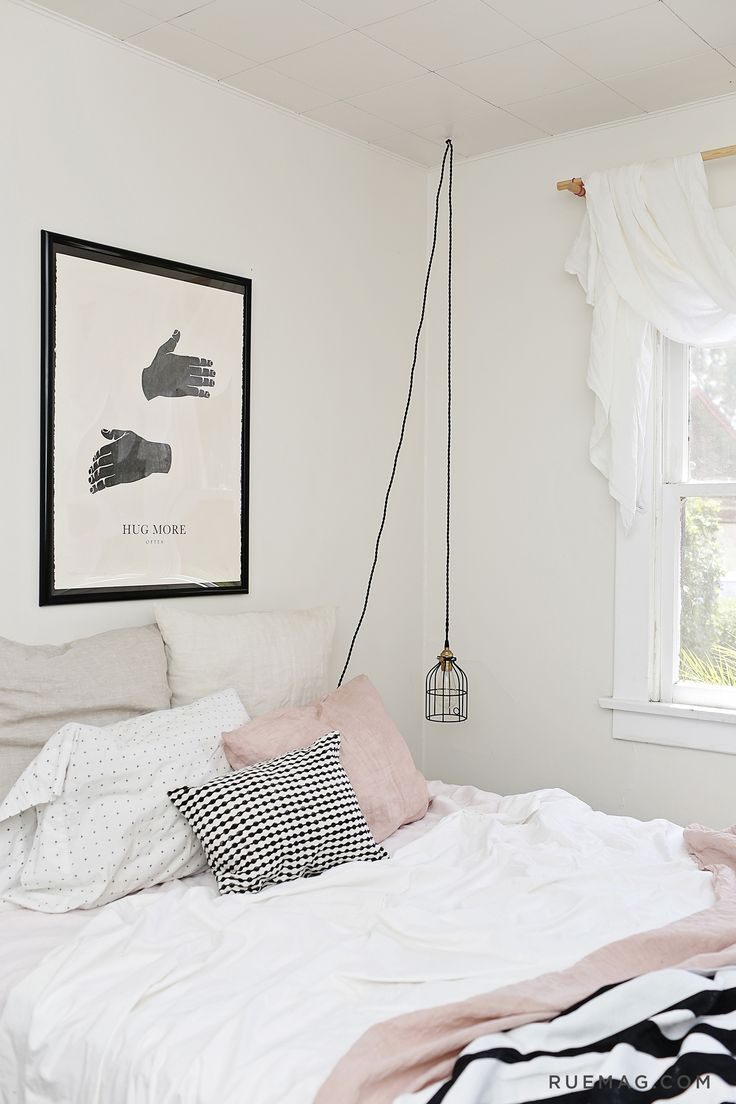 Anne Sage's Home Tour & Sage Living | Rue  Romantic BedroomsWhite  BedroomsBlack ...