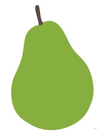 Pear Print by Avalisa at Art.com- 18 x 24 canvas