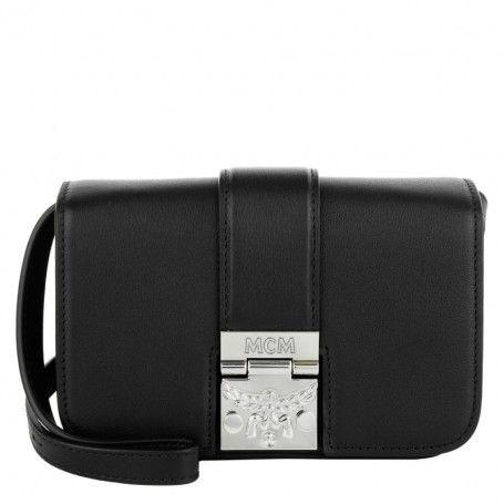MCM Tasche – Karoline Shoulder Bag Mini Black – in schwarz – Umhängetasche für Damen