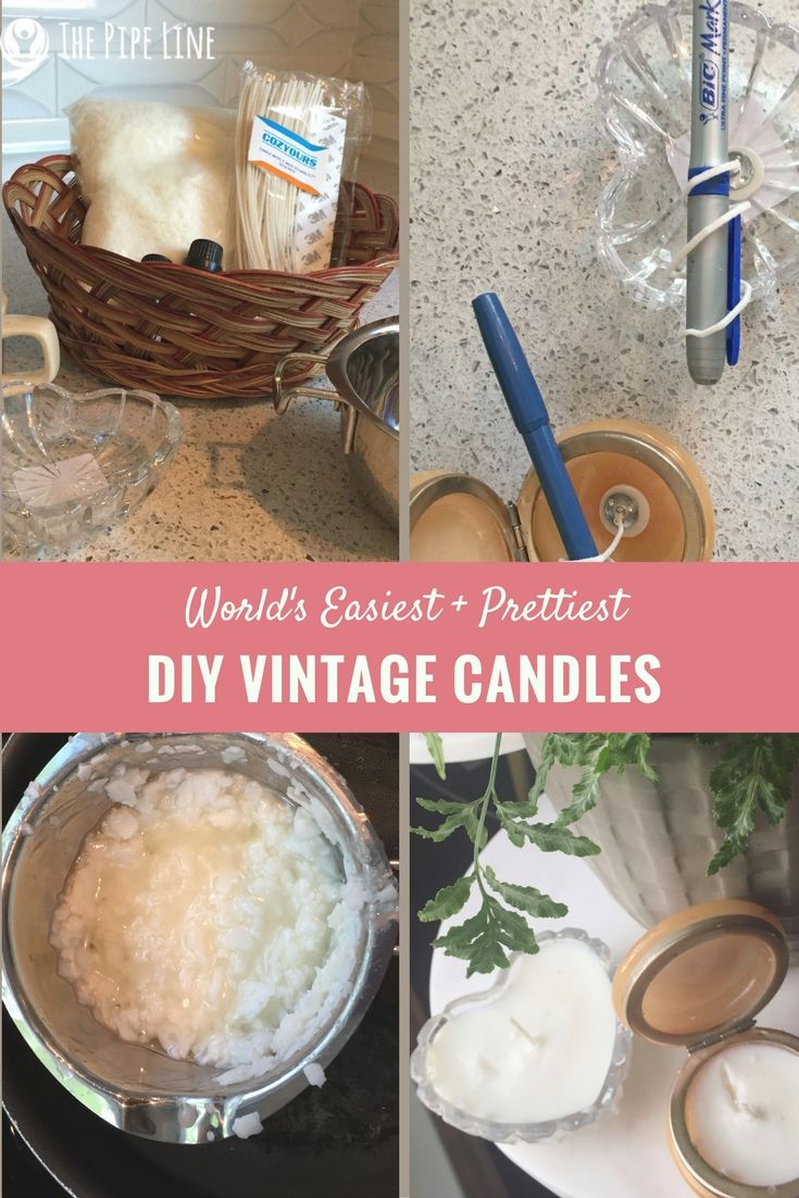 The clock is ticking down to Mother's Day...Want to give a gift with meaning? Make these super easy, unique and aromatic candles! She'll love the thought and you'll have a blast being a craft wizard.