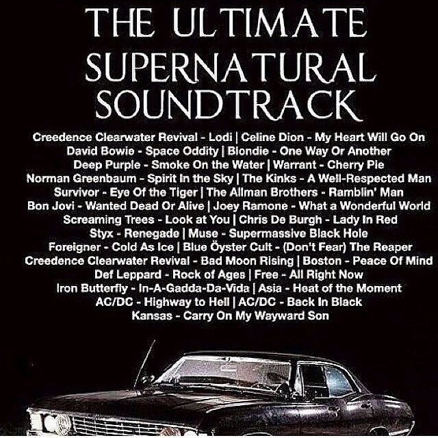 supernatural song list - Google Search