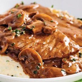Escalopes de veau, sauce marsala et poivre - Recettes - Cuisine et nutrition - Pratico Pratique
