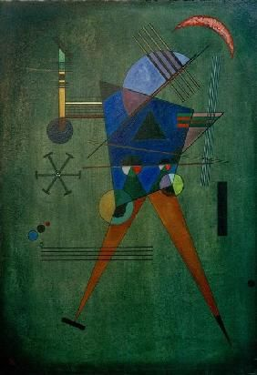 Wassily Kandinsky - Black Triangle