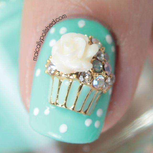 Magically Polished |Nail Art Blog|: Birhday Nails