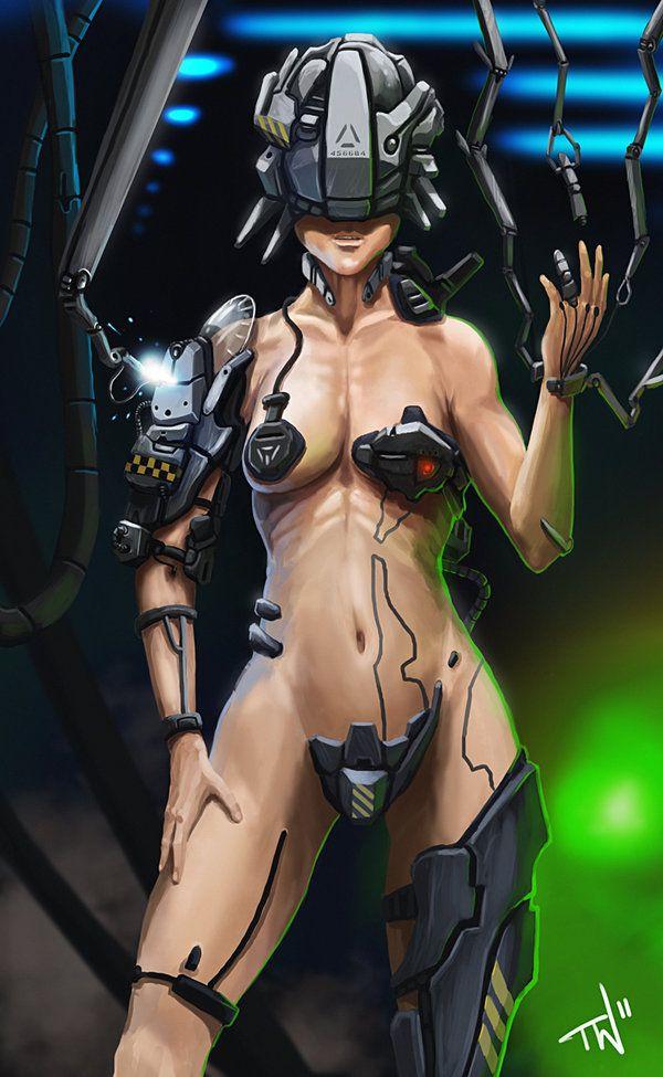 sexy cyberpunk girls