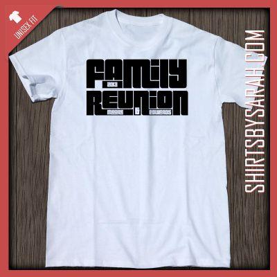 Dual Family Reunion Shirt : Custom Family Reunion Shirts - Shirts By Sarah - Custom Printed T-shirts