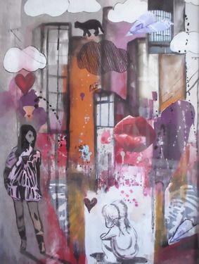 """Saatchi Art Artist Mary-Louise Bicket; Painting, """"Koki"""" #art"""