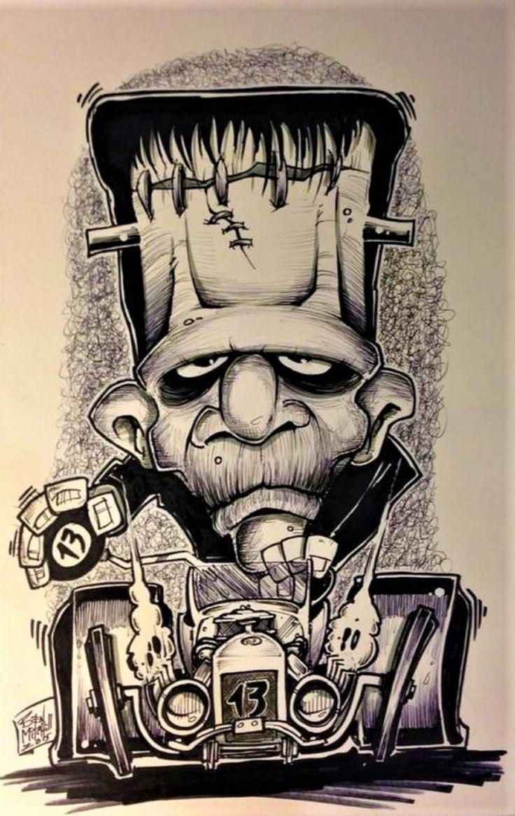 Fantástico Frankenstein Imprimibles Imagen - Dibujos Para Colorear ...