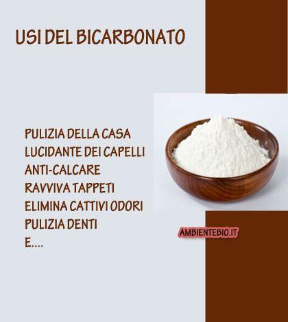 Il bicarbonato e i suoi vari usi