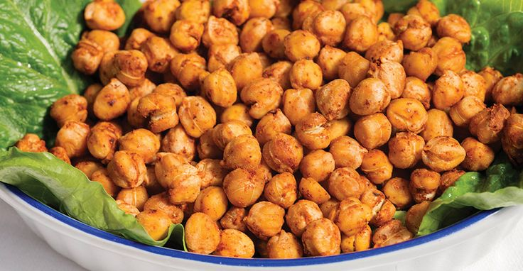 Roasted Chickpeas - These guilt-free snacks are full of flavor and satisfying. They take some time to bake but require almost no labor. These are great for a mid-afternoon snack.