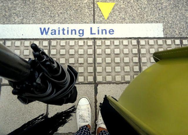 Taipei Metro Waiting Line