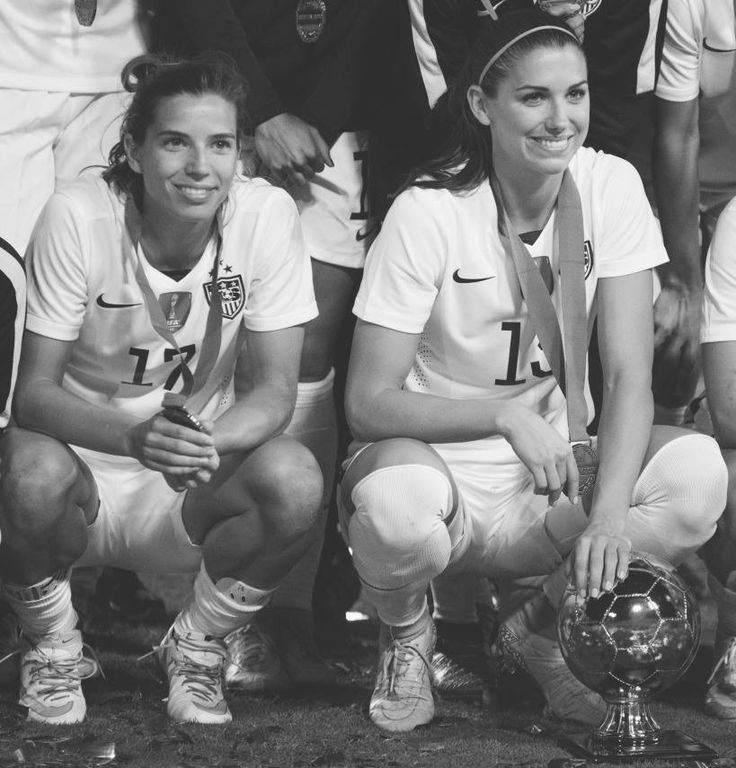 Tobin Heath, Alex Morgan || USAvCAN - CONCACAF Olympic Qualifying Tournament (Feb 21, 2016)