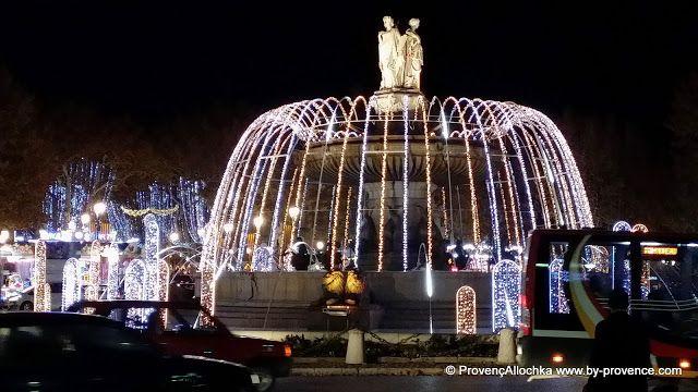 ПровансАллочка: N° 79.Рождественские огни Экс ан Прованса . С наступающими праздниками вас!