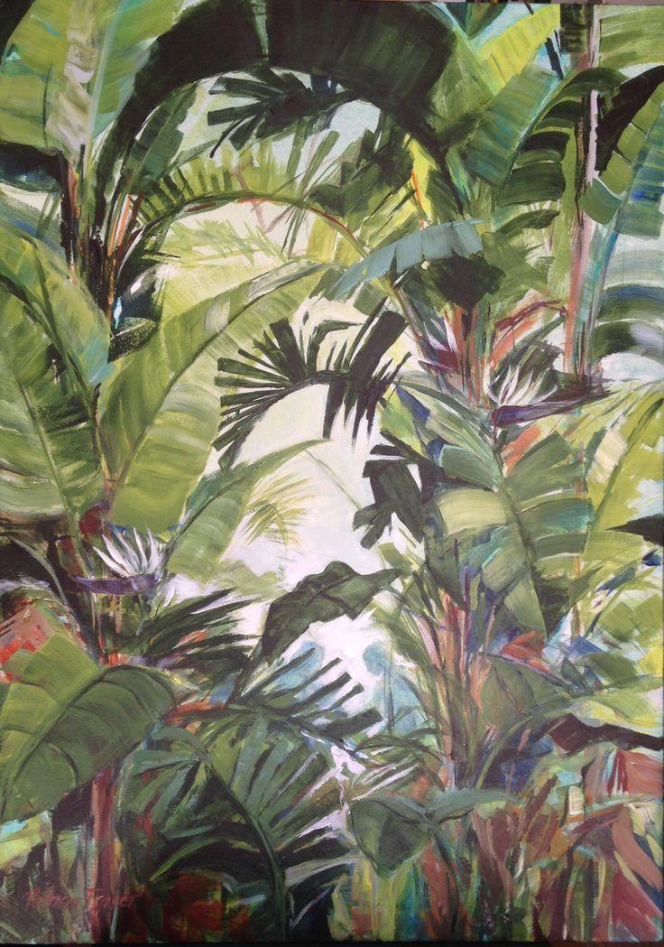 Flourish#2 500x600 acrylic Www patriciafraser.co.za