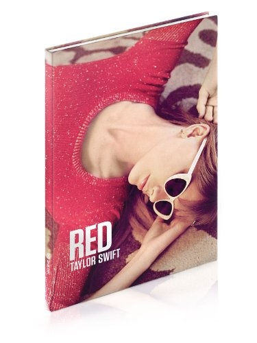 Taylor Swift's RED photo album book, I got at Taylor's concert on sat!!!