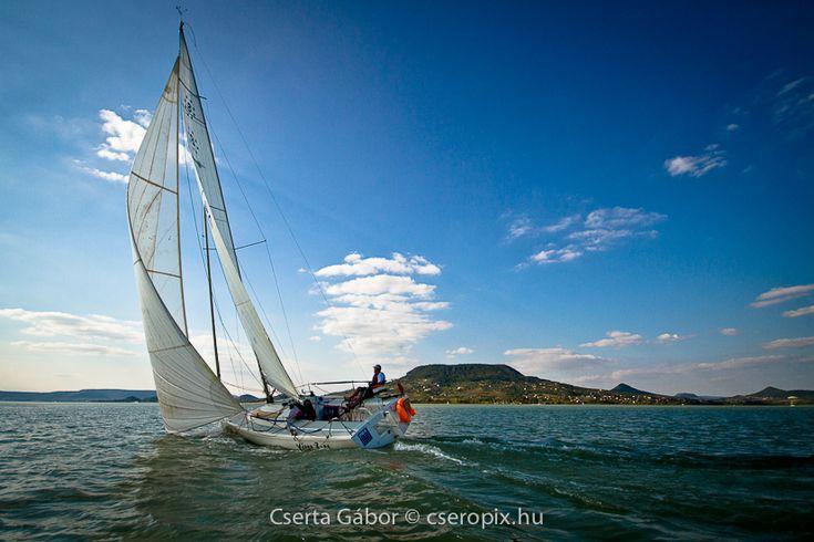 Badacsony,Balaton, Hungary, sailing