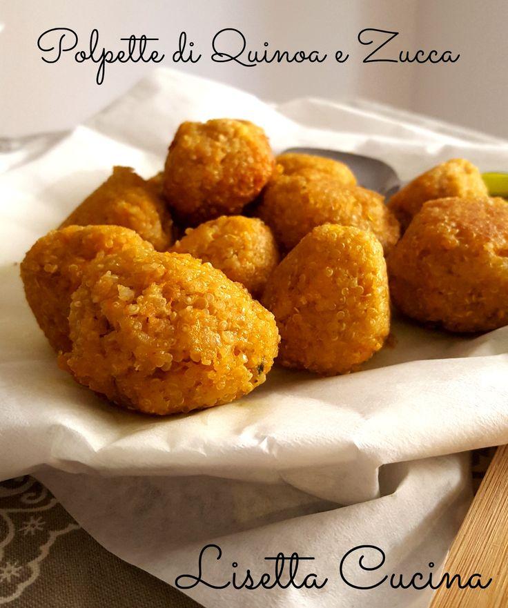 Polpettine di Quinoa e Zucca (senza glutine)