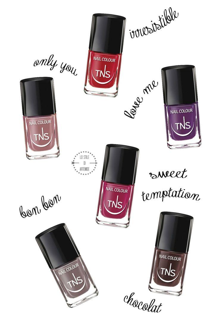 Sweet Temptation, nail polish collection #tns cosmetics