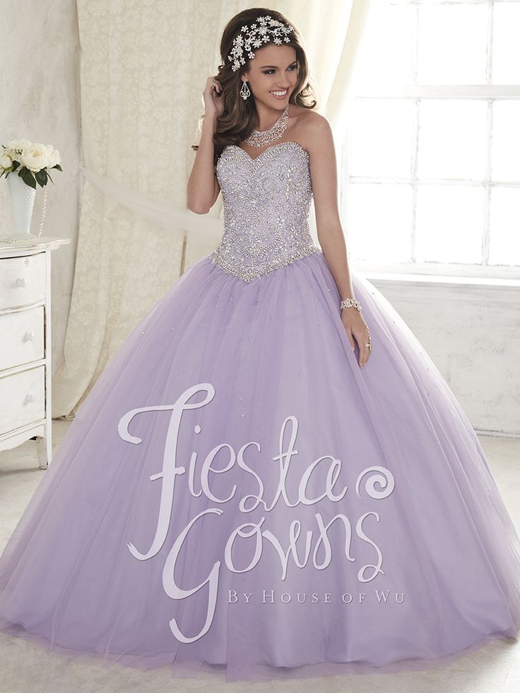 Lovely quinceanera dress by house of wu, fiesta collection #quinceaneradresses #houseofwu #quinceaneracollection #xv #quincedress