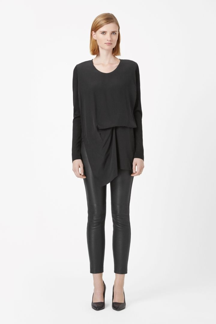COS | Silk layer jumper