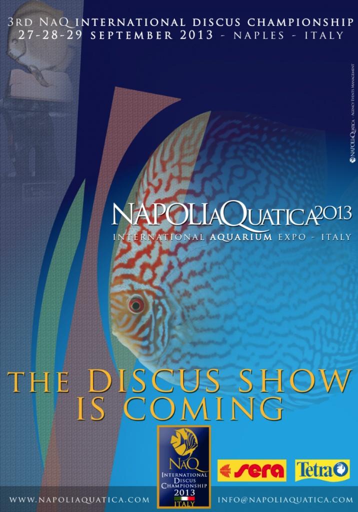 NAPOLIAQUATICA 2013 – International Aquarium Expo on http://www.discusclub.net