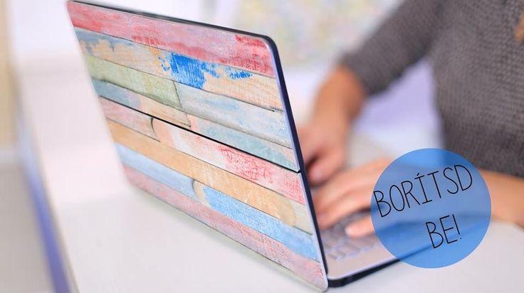 Laptop matrica -Takács Nóra- NORIE