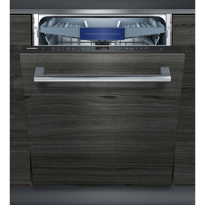 Siemens Sn658x02me Lave Vaisselle Tout Encastrable 14 Couverts Silencieux 42 Db A Larg 60 Cm Moteur Iqdrive Lave Vaisselle Integrable Lave Vaisselle Siemens Lave Vaisselle
