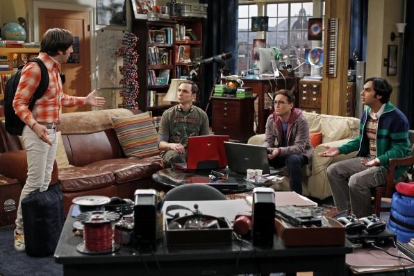 big bang thoery    nerds rule!!