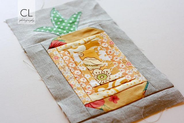 Great idea for a house warming gift...use this quilt square and turn into pillow.