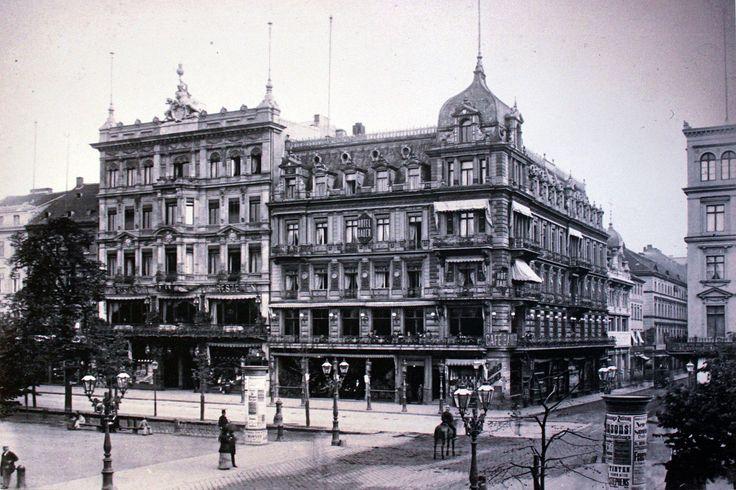 1886.. Cafe Bauer und Restaurant Kaiserhallen