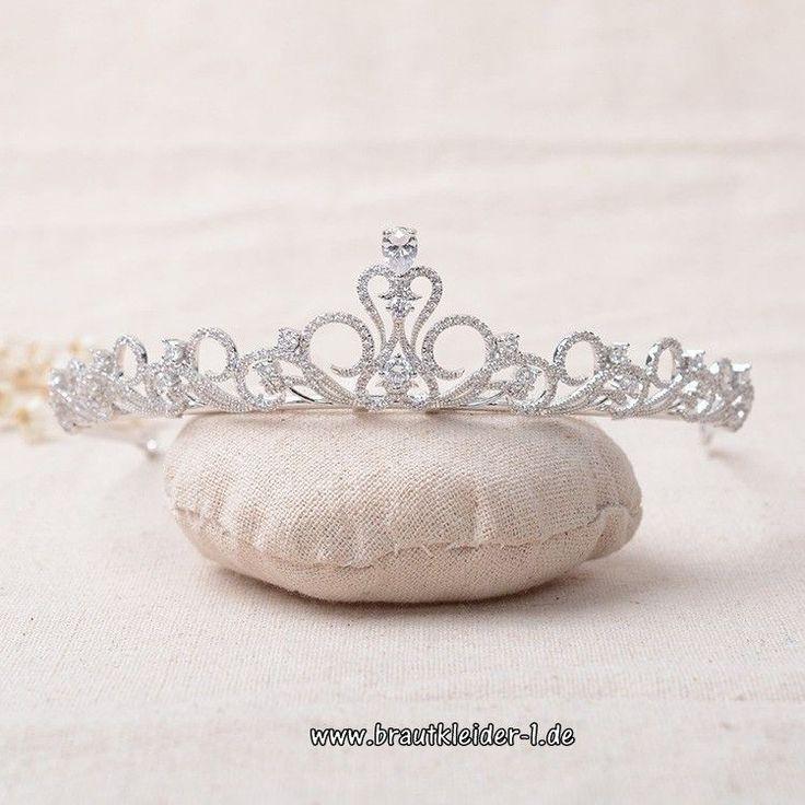 Kubikzircon Krone Braut Tiara Cäzilie
