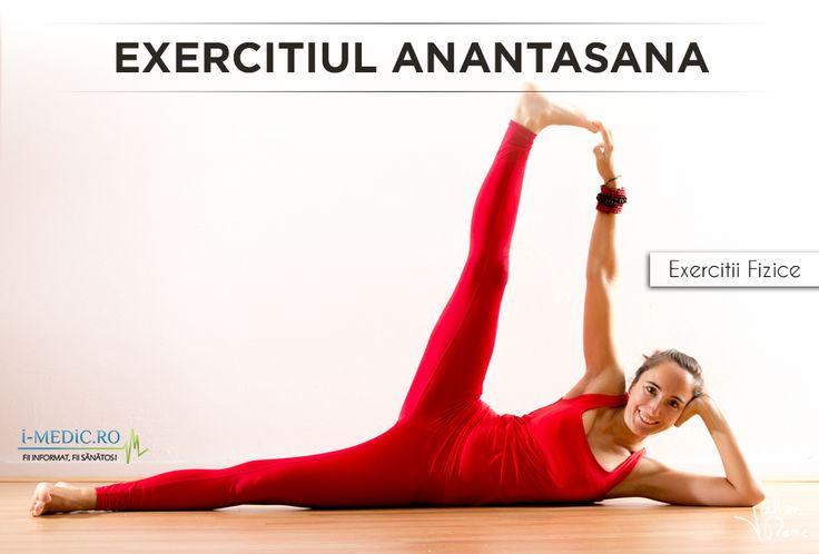 Avantajele exercitiului Anantasana - Imbunatateste echilibrul corpului. - Tonifiaza si creste flexibilitatea tendoanelor si a gambelor. - Imbunatateste circulatia sangelui. - Creste flexibilitatea tendoanelor, a soldurilor si a muschilor aductori. http://www.i-medic.ro/exercitii/yoga/exercitiul-anantasana