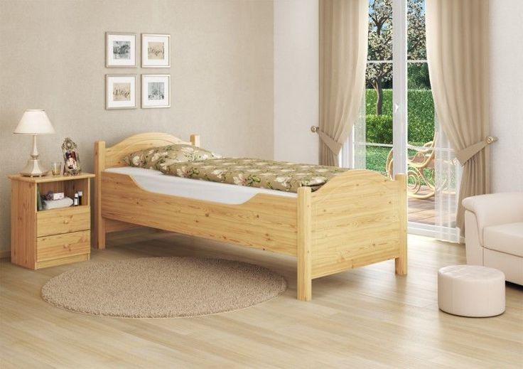 Bettgestell Kiefer mass. 90x200 cm, Bett extra hoch | eBay