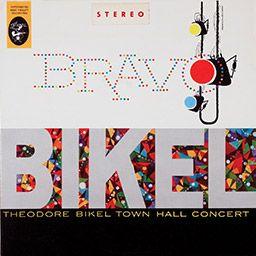 Sleeve:Bravo Bikel! - Theodore Bikel Town Hall Concert