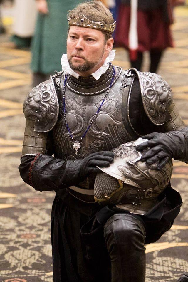 Ugo Serrano made this armor...the magnificent bastard.